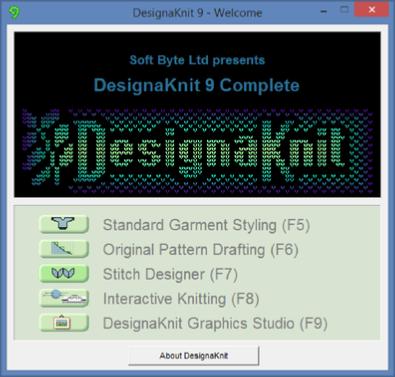 Designaknit 9 Knitwear Design Software Stitch Pattern Design Garment Design Interactive Knitting